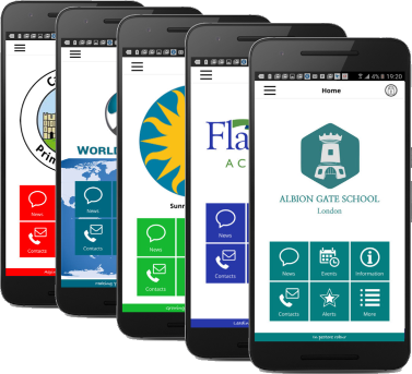 A selection of Piota schools Apps