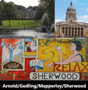Mapperley & Sherwood App Logo