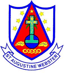 St Augustine  Webster Catholic Voluntary Academy - Logo